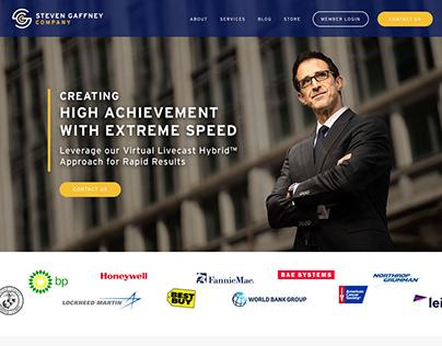 Steven Gaffney - Rebranding & Web Design
