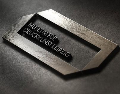 Branding for a Old German Print Musium in Lipzig German