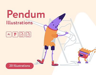Pendum Illustrations