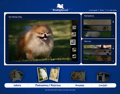 Website BlueRay Kennel