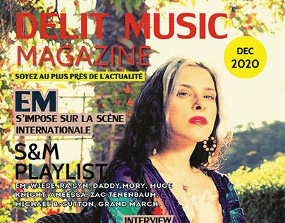 Delit Music Mag - Décembre 2020
