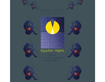 "Clip-art ""Egyptian Nights""/paper slitting"