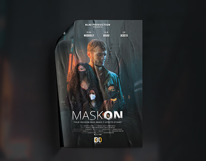 Mask on Movie Poster