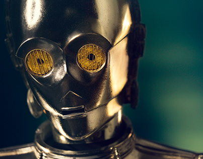 C-3PO with Cade Martin