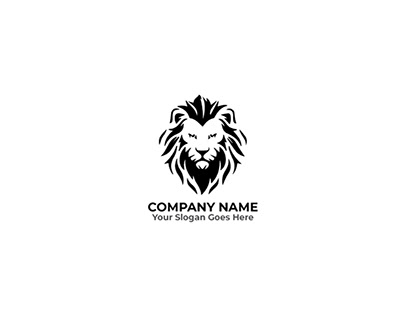 Lion Logo Editable Template