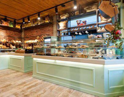 Constantinos Bikas interior designer - Kogia bakery