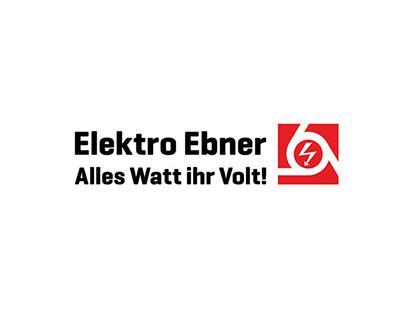 Elektro Ebner GmbH– Brand Identity