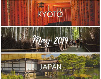 Kyoto, Japan - May 2019