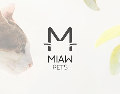 Logo Design & Branding - MIAW Pets