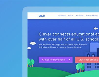 Clever Marketing Website