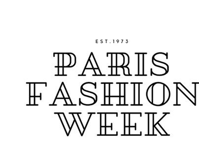 Project Logo Design_Paris Fashion Week
