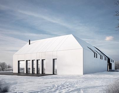 Winter Luxury Barn