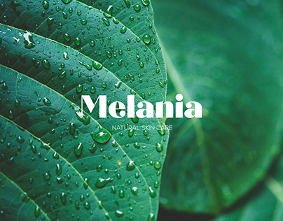 Melania Cosmetics Branding