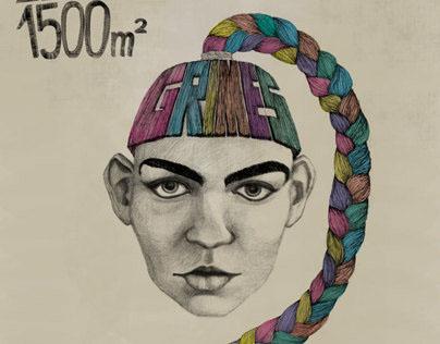 Grimes Gig Poster