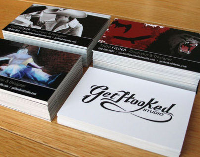 Self Promotional Business Cards