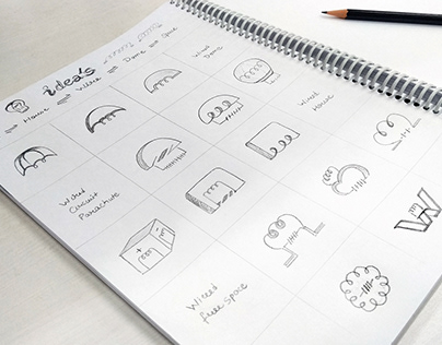 Logo sketch work ideas - Wire, Circuits, Dome