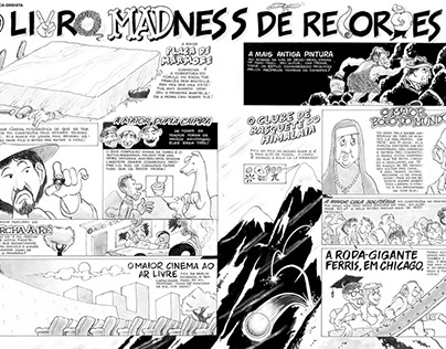 Mad in Brazil # 33. Pages 16, 17 and 18. Sep. 1987