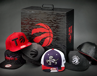 Toronto Raptors x New Era Hat Collection
