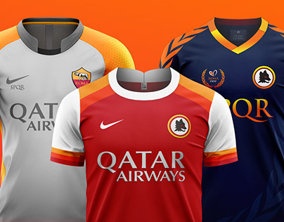 AS Roma Kit Concepts 2020 / 2019 /2018