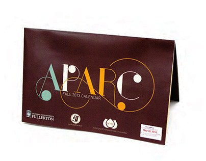 APARC Fall 2013 Calendar