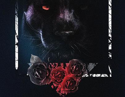 "Poster Design 13""X19"" (BlackPhanter)"