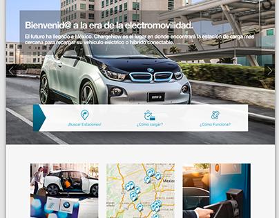 Landing Page para BMW