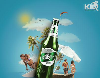 KIQ Beer Brand Creative Communication
