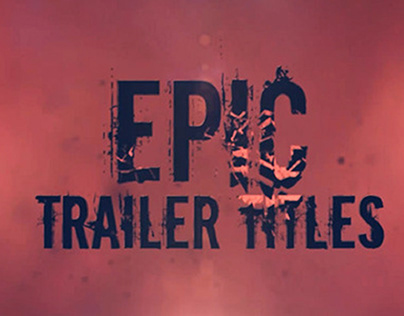 Horror Titles (After Effects Template)