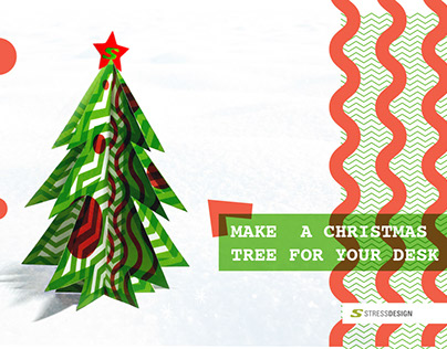 2016 DIY Desktop Christmas Tree