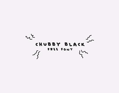 Chubby Black - Free Font