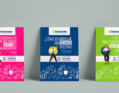 Fichas informativas escuela de liderazgo Colsubsidio