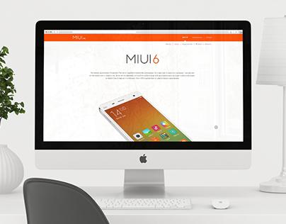MIUI Web-site