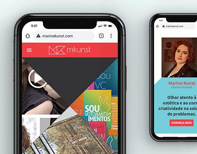 MKunst - Site Portfólio