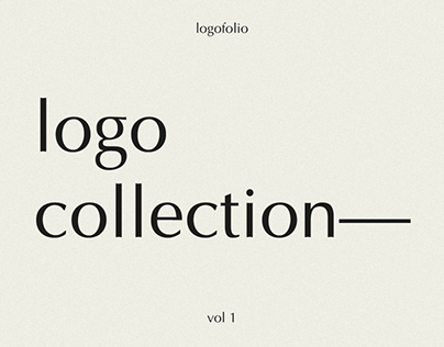 Logofolio: Vol 1