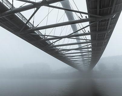 Two bridges over the Vistula river