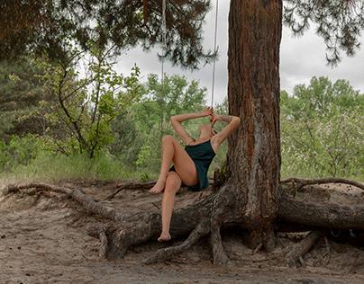 Olga individual shooting