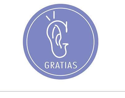 GRATIAS -Graphic Design
