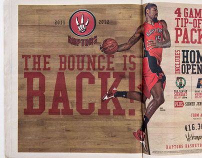 "Toronto Raptors ""Bounce is Back"" Campaign"