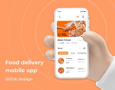 Food Delivery Mobile App Love eat | UI/UX Design