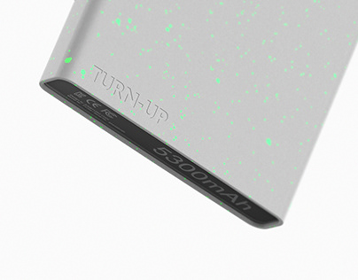 """TURN-UP"" / Power Bank"