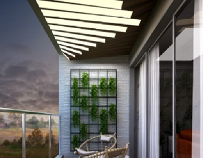 Indian Balcony Projects Photos Videos Logos Illustrations And Branding On Behance
