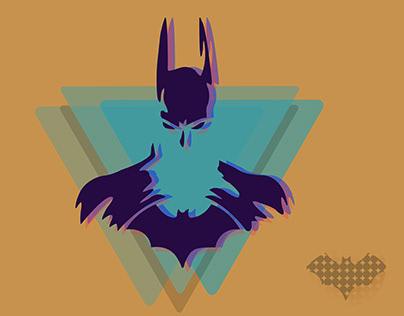 illustration of a batman