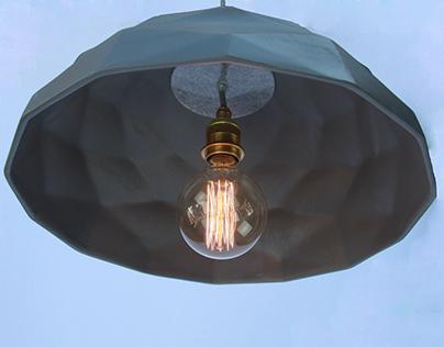 Quilted Pendant - Algorithmic Lighting Design