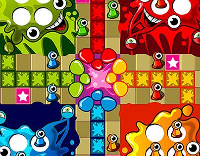 Slime Ludo- Game Concept