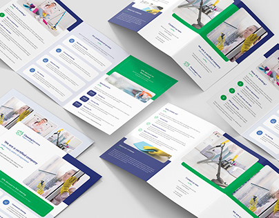 Cleaning Service – Brochures Print Templates