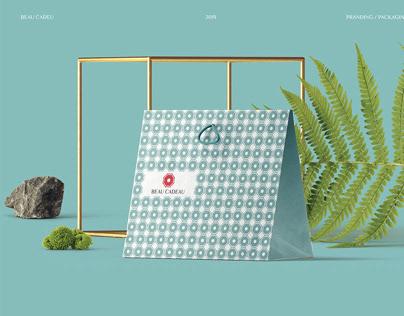 BEAU CADEAU | Online Store Branding &Packaging