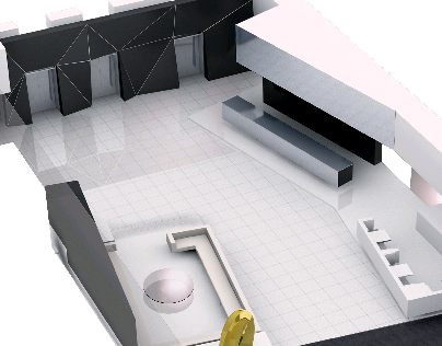 Lobby design for science offices