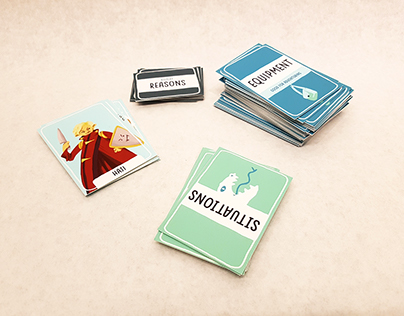"""""""Rivals"""" Card Game"""