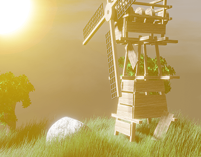 Animation Flying Micro World