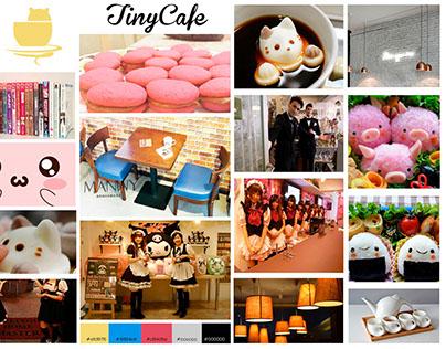 "Moodboard- Proyecto ""TinyCafe"""